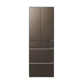 日立 R-HW52K(XH) グレイッシュブラウン [冷蔵庫(520L・フレンチドア)] 【代引き・後払い決済不可】【離島配送不可】