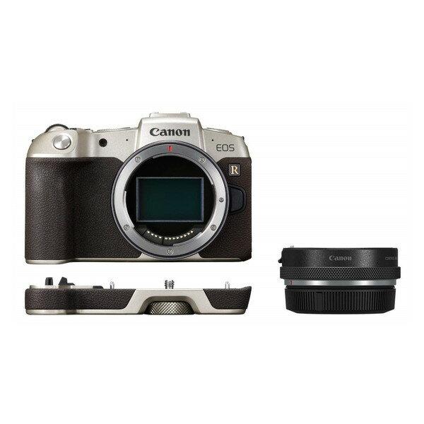 【送料無料】CANON EOS RP(ゴールド) マウントアダプターSPキット ゴールド [ミラーレス一眼カメラ(2620万画素)]