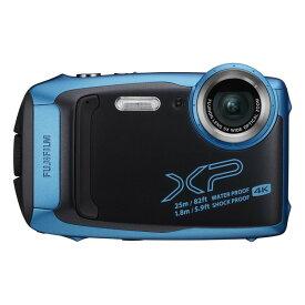 【送料無料】富士フィルム FinePix XP140 スカイブルー スカイブルー [コンパクトデジタルカメラ(1635万画素)]