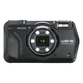 RICOH WG-6 ブラック ブラック [コンパクトデジタルカメラ(2000万画素)]
