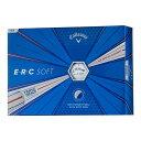 キャロウェイ ERC SOFT ゴルフボール ホワイト 1ダース(12個入り) 【日本正規品】 父の日2019ゴルフ