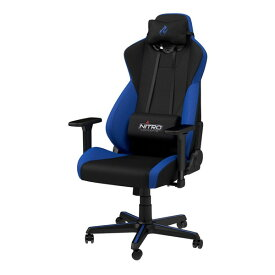 noblechairs NC-S300-BB ブルー Nitro Concepts [ゲーミングチェア] メーカー直送