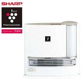SHARP シャープ 加湿セラミックヒーター (プラズマクラスター7000搭載) ベージュ系/オークベージュ 暖房器具 加湿器 省エネ 安全 足元 赤ちゃん 乾燥しない HX-H120の後継機種 HX-J120-C HXJ120 レビューCP500