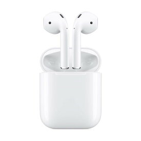 APPLE Airpods 第2世代 ワイヤレスイヤホン Bluetooth対応 AirPods with Charging Case MV7N2J/A 充電有線タイプ