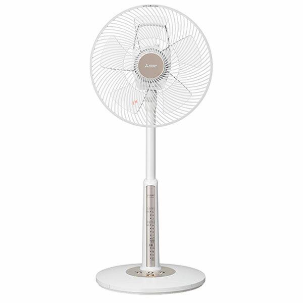 【送料無料】MITSUBISHI R30J-MW-W ピュアホワイト [ACモーター扇風機(リビング扇・本体操作タイプ)]