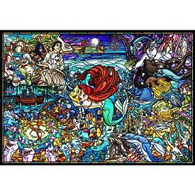 テンヨー 1000ピース ジグソーパズル リトル・マーメイド ストーリー ステンドグラス ピュアホワイト(51x73.5cm)