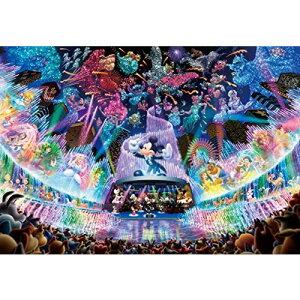 テンヨー 500ピース ジグソーパズル ディズニーウォータドリームコンサート ぎゅっとシリーズ ステンドアート(25x36cm)