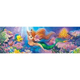 テンヨー 456ピース ジグソーパズル ディズニー リトル・マーメイド 憧れの世界へ… ぎゅっとシリーズ ステンドアート(18.5x55.5cm)