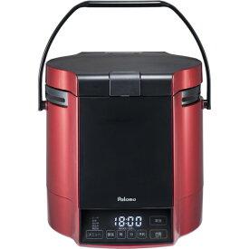 パロマ PR-M09TR13A プレミアムレッド×ブラック 炊きわざ [ガス炊飯器(都市ガス用・5合炊き) ]