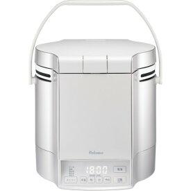 パロマ PR-M18TVLP プレミアムシルバー×アイボリー 炊きわざ [ガス炊飯器(プロパンガス用・1升炊き) ]