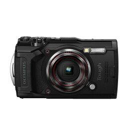 【送料無料】OLYMPUS TG-6 BLK Tough ブラック [コンパクトデジタルカメラ(1200万画素)]