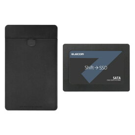 ELECOM ESD-IB0480G [2.5インチ内蔵型SSD (SATA 6Gb/s対応・480GB)]【同梱配送不可】【代引き・後払い決済不可】【沖縄・離島配送不可】