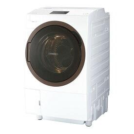 東芝 TW-127X8L(W) グランホワイト ZABOON [ななめ型ドラム式洗濯乾燥機 (洗濯12.0kg/乾燥7.0kg) 左開き]【代引き不可】