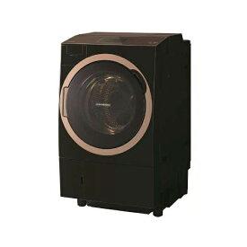 東芝 TW-127X7L(T) グレインブラウン ZABOON [ドラム式洗濯乾燥機 (洗濯12.0kg/乾燥7.0kg) 左開き ヒートポンプ乾燥 ウルトラファインバブルW搭載 7型カラータッチパネル ] 【代引き・後払い決済不可】【離島配送不可】