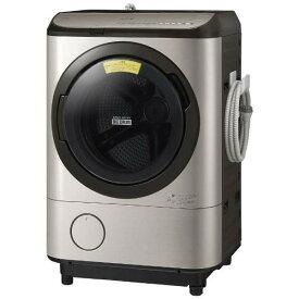 日立 BD-NX120EL ステンレスシャンパン ヒートリサイクル 風アイロン ビッグドラム [ドラム式洗濯乾燥機 (洗濯12.0kg/乾燥6.0kg) 左開き]【代引き・後払い決済不可】