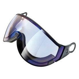 EVERNEW CPC1944 CP vario blue mirror 1.6 [ウィンタースポーツ用ヘルメット 交換用バイザーミラーレンズ]