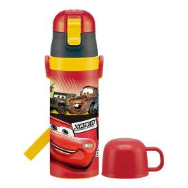 スケーター マグボトル 子供用 2WAY ステンレス 水筒 コップ付き カーズ 19 ディズニー 430ml SKDC4