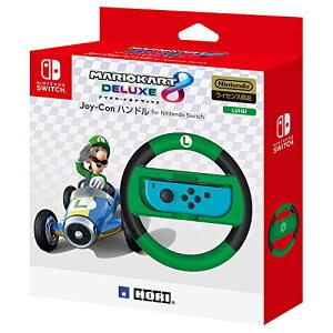 【セール中】【Nintendo Switch対応】マリオカート8 デラックス Joy-Conハンドル for Nintendo Switch ルイージ