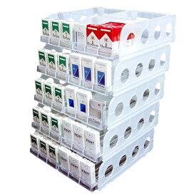 たばこ什器 6列5段 各列15個収納 【店舗什器・DIY】