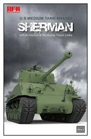 《発売済・在庫品》ライフィールドモデル 1/35 アメリカ軍 中戦車 M4A3 76W HVSS シャーマン With フルインテリア プラモデル