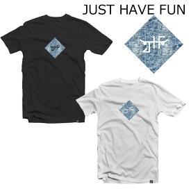 JHF JUST HAVE FUN Tシャツ メンズ LEGACY TEE ジャストハブファン スケートボードキャップ ブランド スケーター スケボー ストリート系 ファッション 2018春夏モデル
