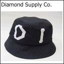 Diamond Supply Co. ハット DUGOUT BUCKET HAT ダイヤモンドサプライ バケットハット [国内正規品]