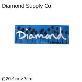 Diamond Supply Co. ステッカー ダイヤモンドサプライ STICKER OG SCRIPT ロゴ スケートボード スケボー ストリート系 メール便可