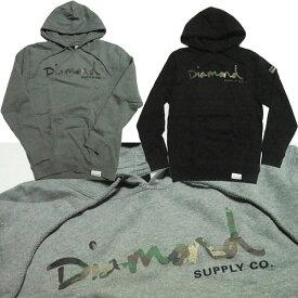 Diamond Supply Co. パーカー ダイヤモンドサプライ フード CAMO SCRIPT スケートボード [国内正規品]