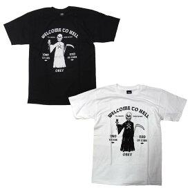 OBEY Tシャツ メンズ オベイ 半袖 ティーシャツ TEE SHIRT FRIENDLY REAPER ストリート ※メール便可
