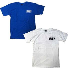 OBEY Tシャツ メンズ オベイ 半袖 ティーシャツ TEE SHIRT BRICKWALL ストリート ※メール便可