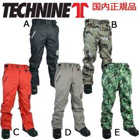 15-16 テックナイン CHINO SHELL PANT TECHNINE チノパンツ スノーボードウェア T9 メンズ 2015-2016