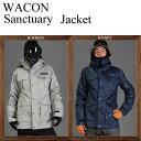 17-18 WACON ワコン ウェア SANCTUARY JACKET ジャケット スノーボードウェア SNOWBOARD WACON
