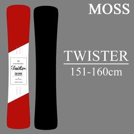 18-19 MOSS TWISTER モス ツイスター スノーボード 板 スノボー ハンマーヘッド MOSS SNOWBOARD