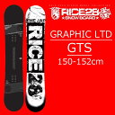 18-19 RICE28 スノーボード GTS GRAPHIC LTD ライス28 ジーティーエス グラフィックリミテッド 限定カラー RT7GTS後継モデル メンズ 板…