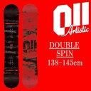 18-19 011artistic DOUBLESPIN スノーボード ゼロワンワンアーティスティック ダブルスピン レディースサイズ 板 グラトリ 予約商品