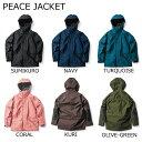 18-19 GREEN CLOTHING グリーンクロージング PEACE JACKET ピースジャケット スノーボードウェア SNOWBOARD WEAR 予約商品