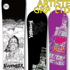 19-20 ノベンバー ARTISTE GRAPHIC LTD. アーティストグラフィックリミテッド スノーボード 板 スノボー SNOWBOARD スノボー