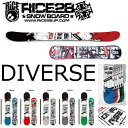 19-20 RICE28 DIVERSE ライス28 ディバース スノーボード メンズ 板 グラトリ スノボー SNOWBOARD