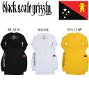 グリズリー ブラックスケール コラボ GRIZZLY BLACK SCALE ロンティー BLVCK GRIZZLY FLAG LONG SLEEV TEE SHIRT ロンTEE スケートボー…
