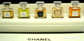 Chanel Mini Perfume 5 piece set (no box) Mini Perfume mini bottle 10P08Feb15