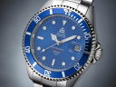 エルジン ELGIN 腕時計 200m防水 自動巻き ダイバーズ FK1405S-BL ブルー