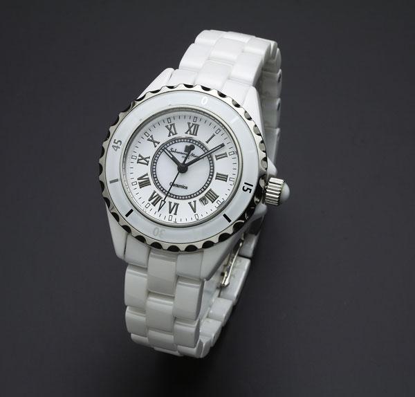 サルバトーレマーラ セラミック 腕時計 レディース SM15151-WHR