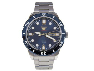 Reimportation SRP677J1 made in SEIKO 5 SEIKO watch self-winding watch Japan is blue