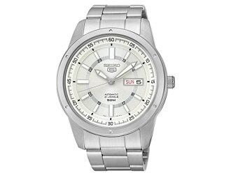 精工精工 5 5 反向自动男装手表,SNKN09J1,日本制造的