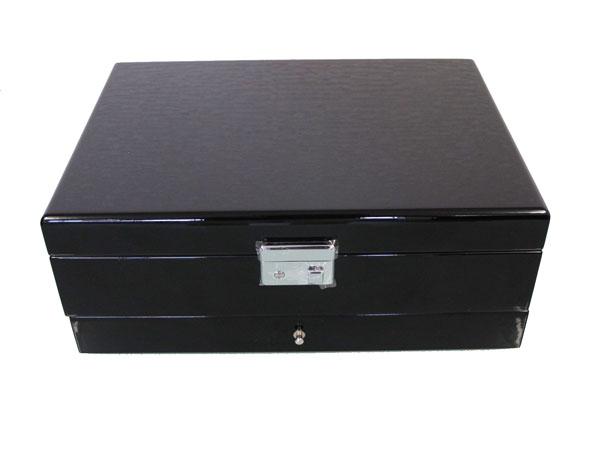腕時計 コレクションケース 時計 収納 ケース 10本 ピアノブラック 引き出し付き KA50020BK