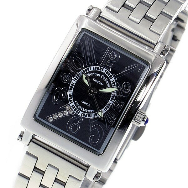 モントレス MONTRES Collection クオーツ レディース 腕時計 MC-2526-10 ブラック