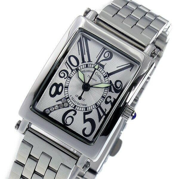 モントレス MONTRES Collection クオーツ レディース 腕時計 MC-2526-6 ホワイト