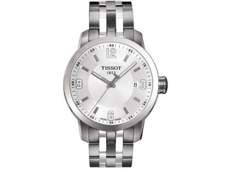 Tissot TISSOT watch men zouk Oates T055 .410.11.017.00