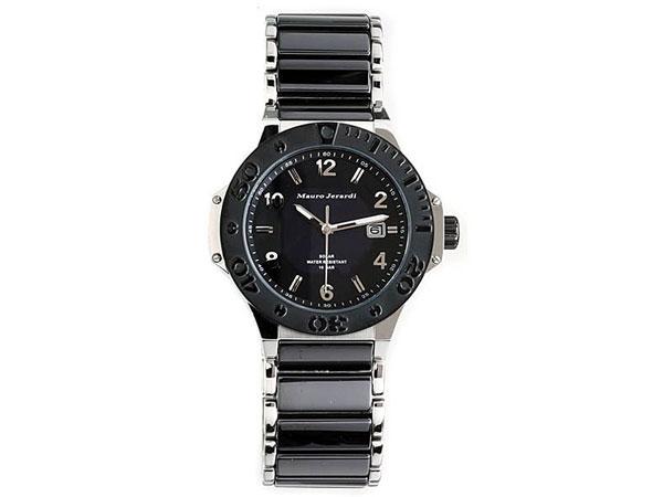 マウロ ジェラルディ MAURO JERARDI セラミック ソーラー メンズ 腕時計 MJ034-1