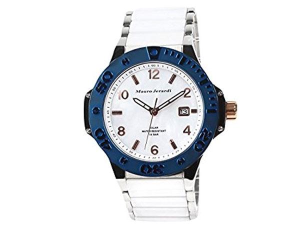マウロ ジェラルディ MAURO JERARDI セラミック ソーラー メンズ 腕時計 MJ034-4